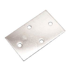 Heavy Duty Diamond Back Plate