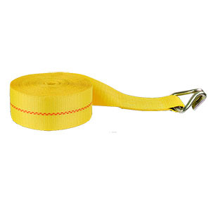 Winch Strap with Wire Hook