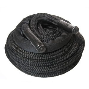 Premium Black Nylon Fitness Rope