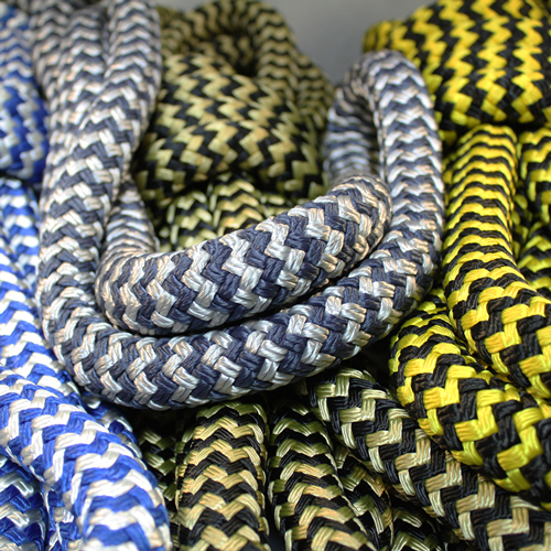 Snakeskin Pattern Nylon Yacht Braids