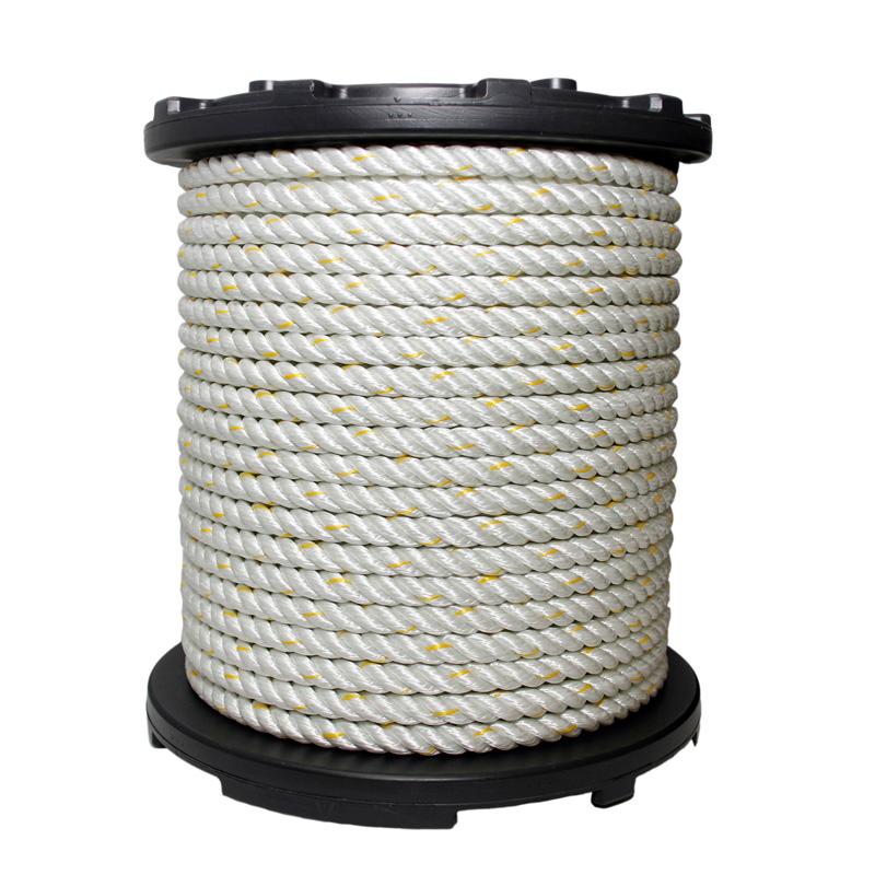 Nylon 3-strand Heat Set