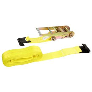 Ratchet Strap w/ Flat Hooks