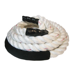 White PolyDac Fitness Rope