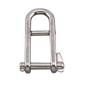 Halyard key pin shackle