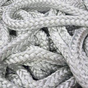 White 12-strand Rope