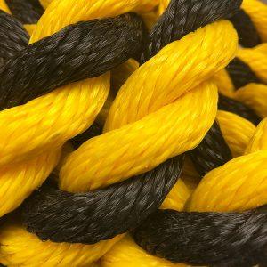 Polypro Yellow & Black