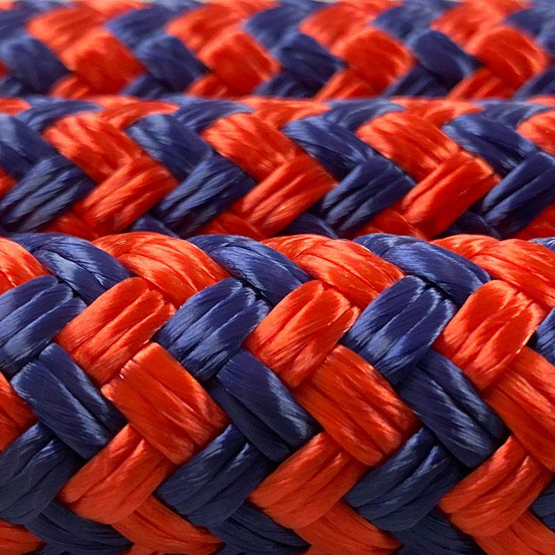 Double Braid Orange & Blue