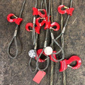 Wire Rope Slings w/ Hooks
