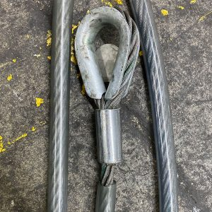 Wire Rope Sling w/ Sleeve
