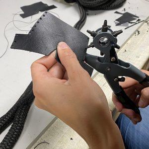 Dockline w/ Leather Chafe